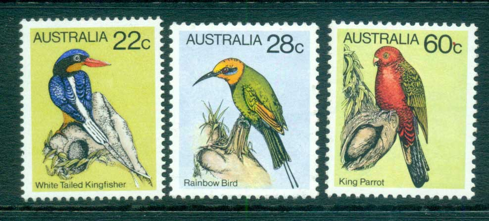 Australia 1980 Birds Part III (3) MUH lot63916