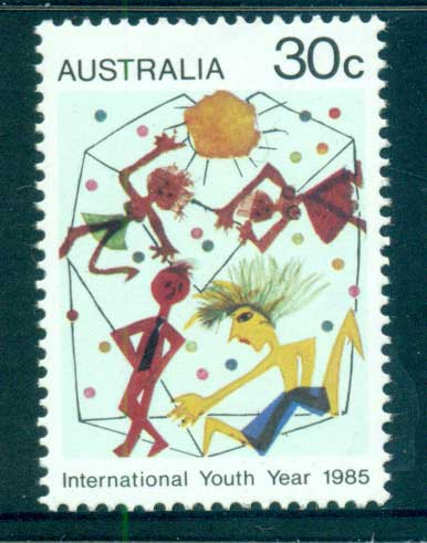 Australia 1985 International Youth year MUH lot63987