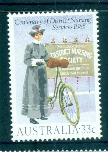 Australia 1985 Nursing MUH lot63988