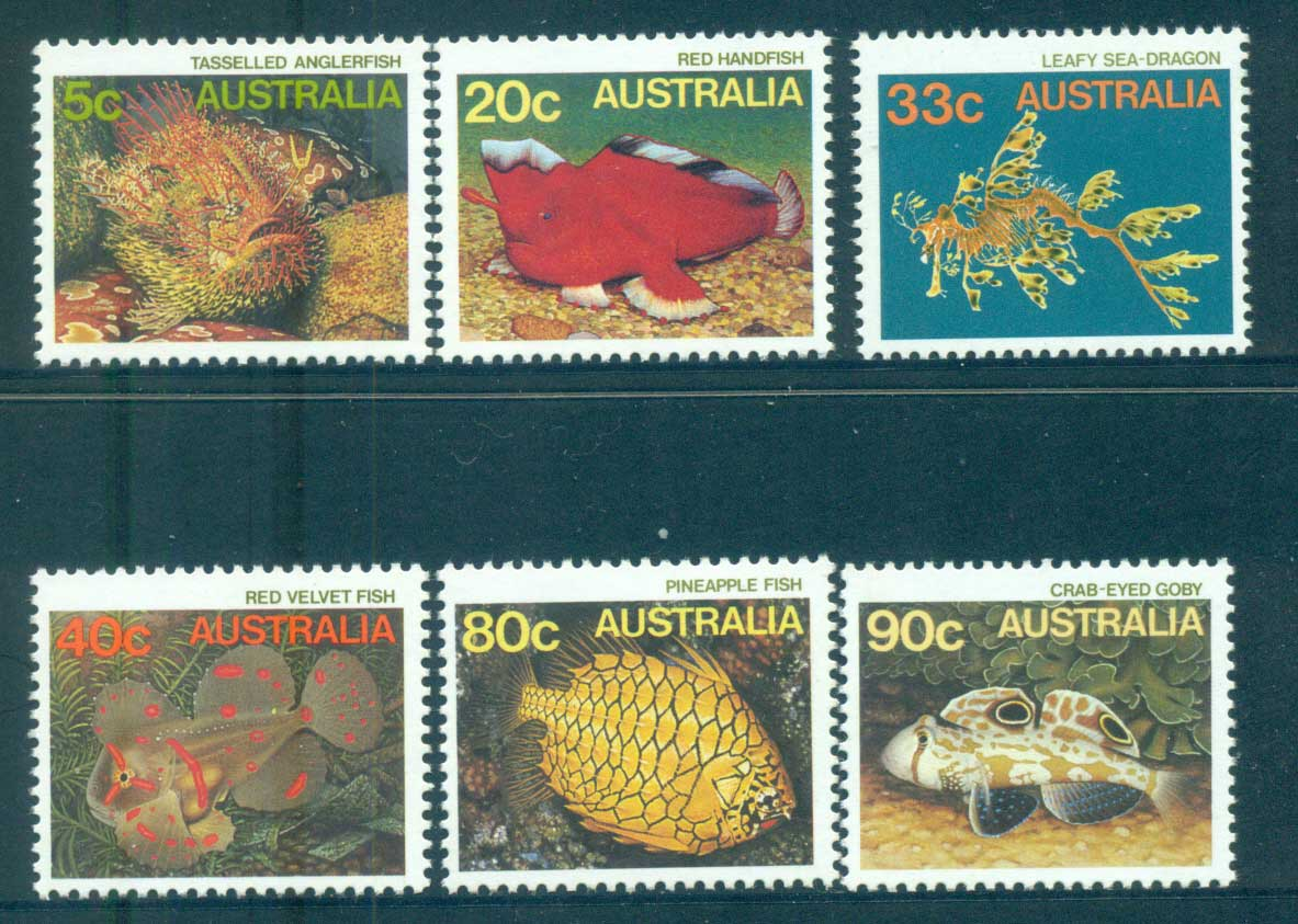 Australia 1985 Marine Life Part II + 33c(6) MUH lot63991