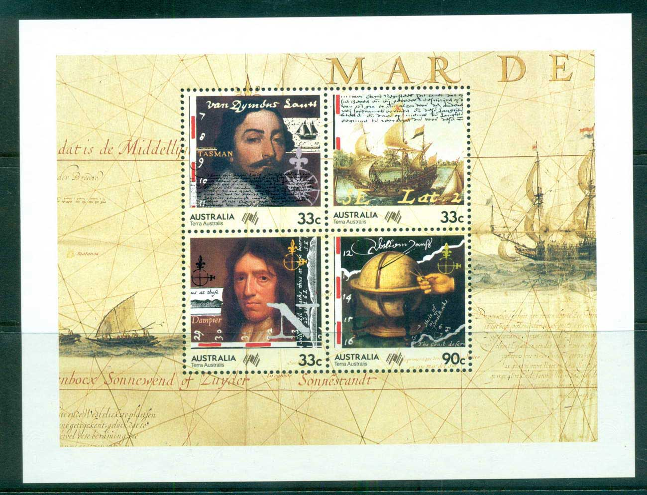 Australia 1985 Navigators MS MUH lot63992