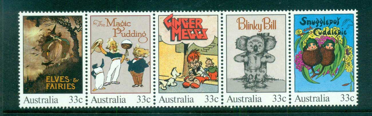 Australia 1985 Classic Children's Books Str 5 MUH lot63996