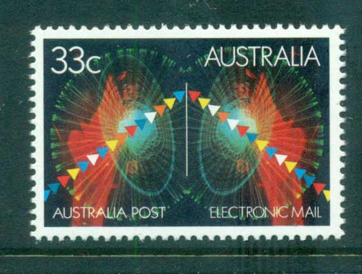 Australia 1985 Electronic Mail MUH lot63998
