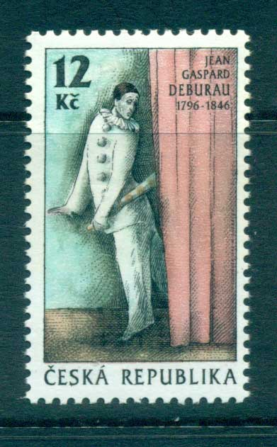 Czech Republic 1996 Mime Artist MUH lot65240