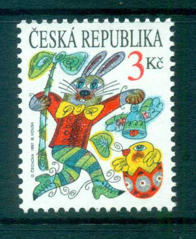 Czech Republic 1997 Easter MUH lot65250