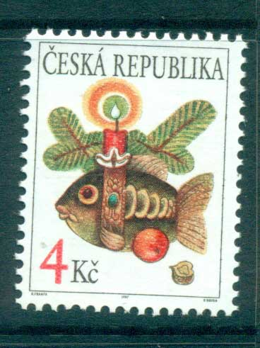 Czech Republic 1997 Xmas MUH lot65263