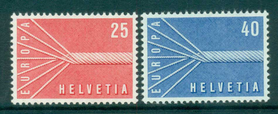 Switzerland 1957 Europa, Allegories MUH lot65279