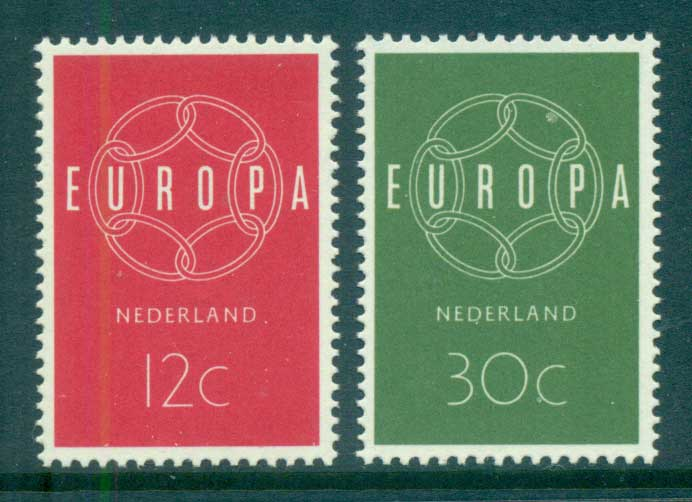 Netherlands 1959 Europa, Global Links MUH lot65293