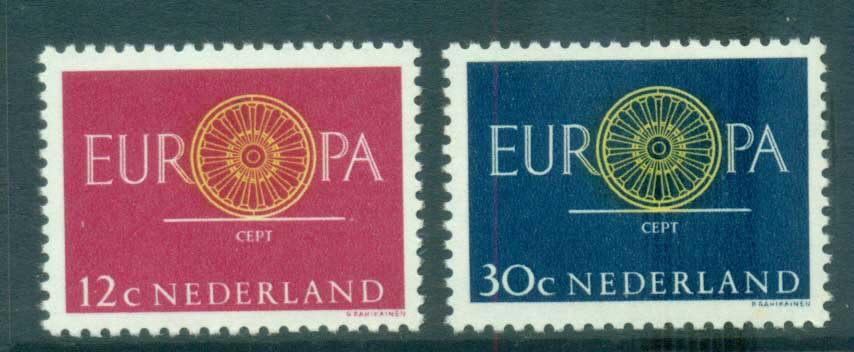 Netherlands 1960 Europa, Spoked Wheel MUH lot65308