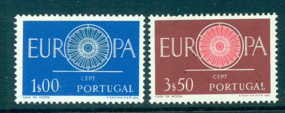 Portugal 1960 Europa, Spoked Wheel MUH lot65311