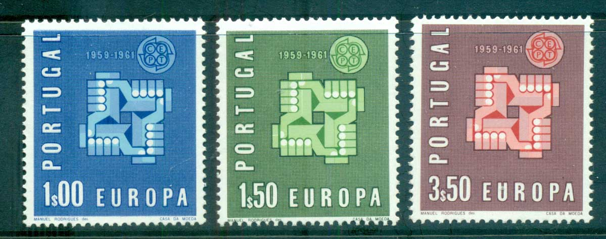 Portugal 1961 Europa, Birds of Birds MUH lot65327