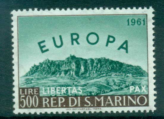 San Marino 1961 Europa, Birds of Birds MUH lot65331