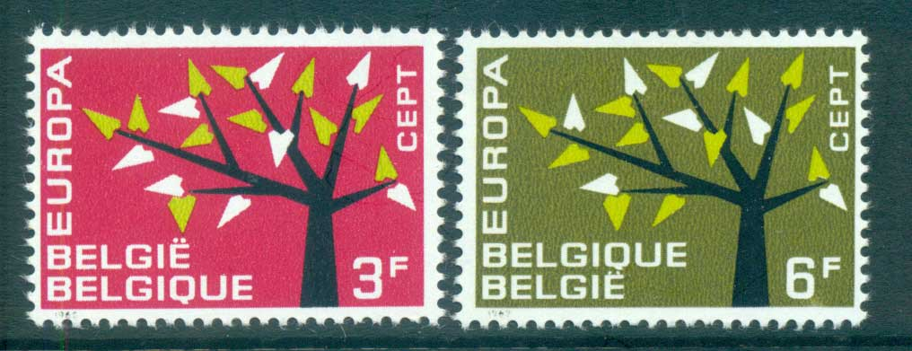 Belgium 1962 Europa, Tree with Leaves MUH lot65334