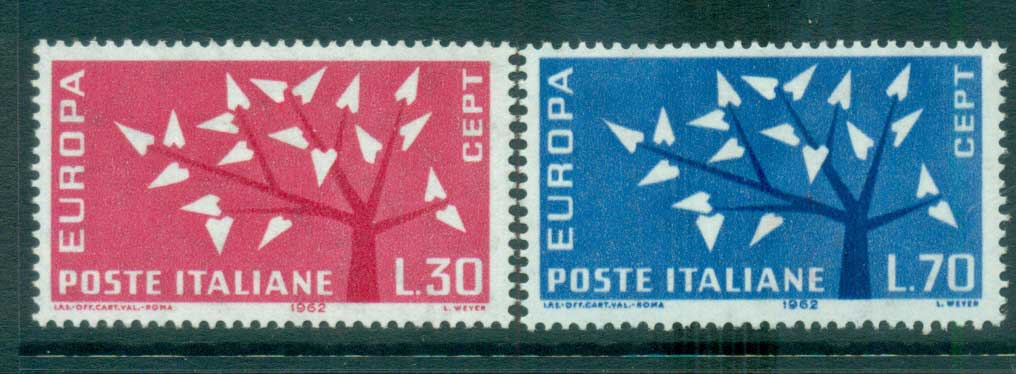 Italy 1962 Europa, Tree with Leaves MUH lot65339