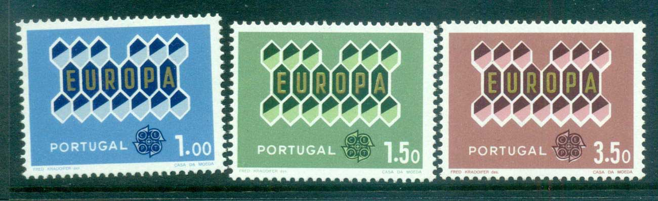 Portugal 1962 Europa, Tree with Leaves MUH lot65344
