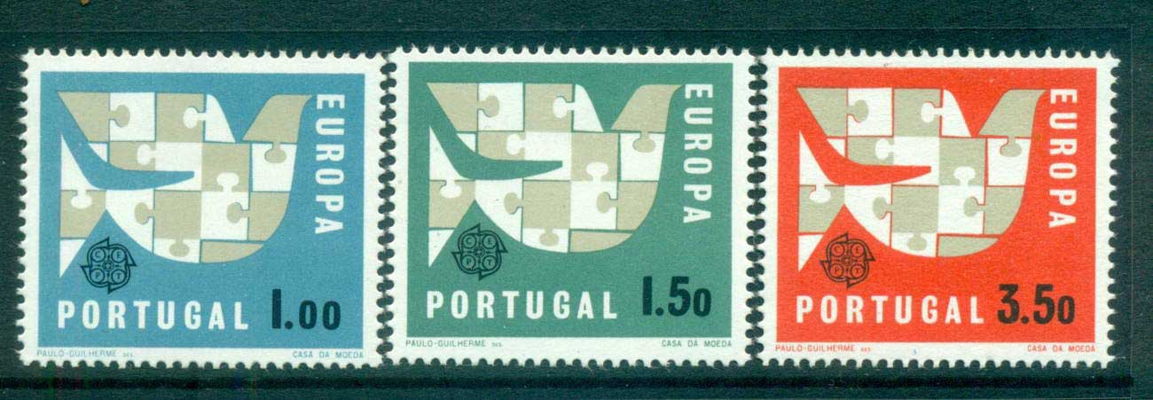 Portugal 1963 Europa, Interlock Links MUH lot65364