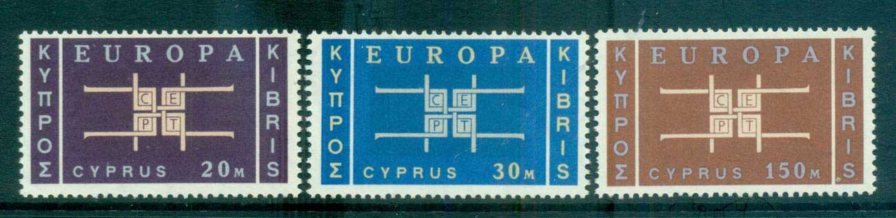 Cyprus 1963 Europa, Interlock Links MUH lot65369