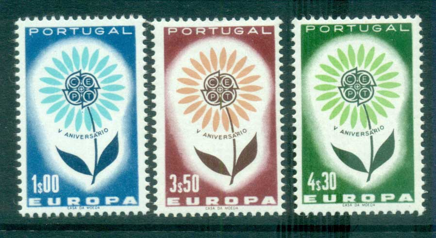 Portugal 1964 Europa, Daisy of Petals MUH lot65383