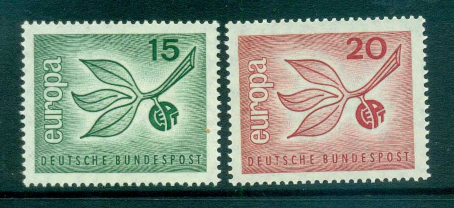 Germany 1965 Europa, Leaves & Fruit MUH lot65389