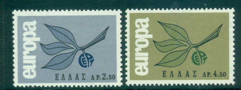Greece 1965 Europa, Leaves & Fruit MUH lot65393