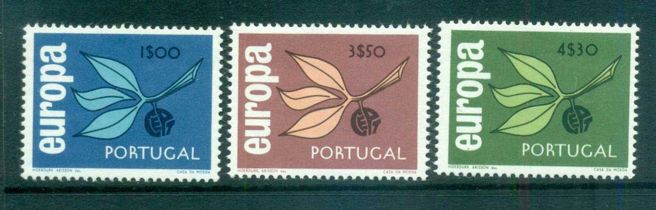 Portugal 1965 Europa, Leaves & Fruit MUH lot65403