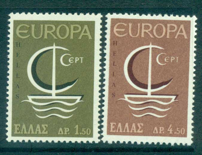 Greece 1966 Europa, Sailboat MUH lot65412