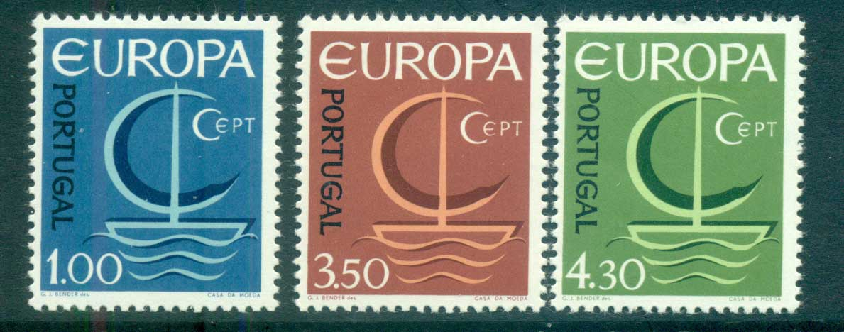 Portugal 1966 Europa, Sailboat MUH lot65421