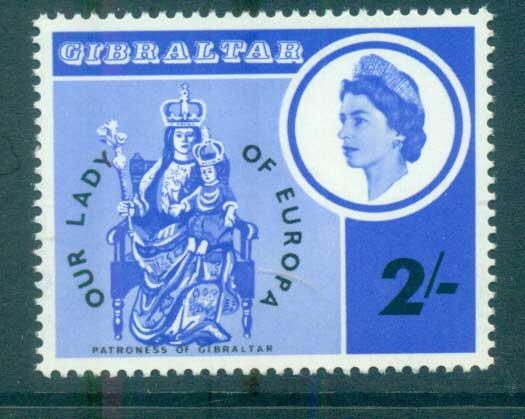 Gibraltar 1966 Europa, Our Lady MUH lot65427