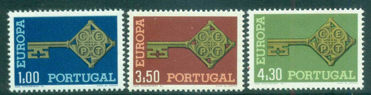 Portugal 1968 Europa, Key with Emblem MUH lot65460