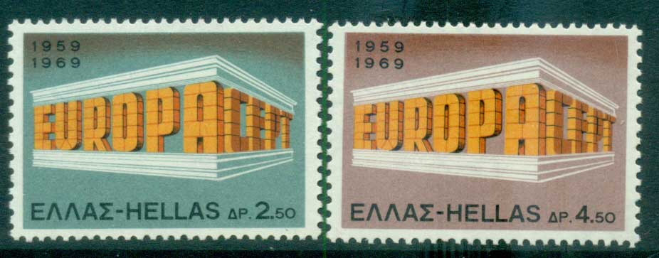 Greece 1969 Europa, Europa Building MUH lot65471