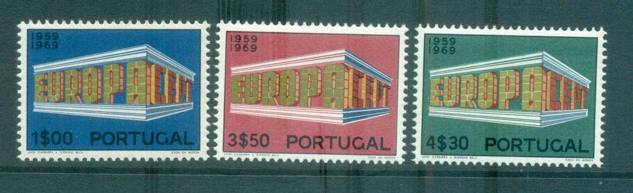 Portugal 1969 Europa, Europa Building MUH lot65484