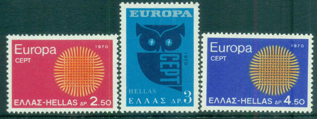 Greece 1970 Europa, Woven Threads MUH lot65495