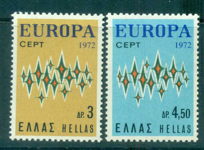 Greece 1972 Europa, Sparkles MUH lot65537