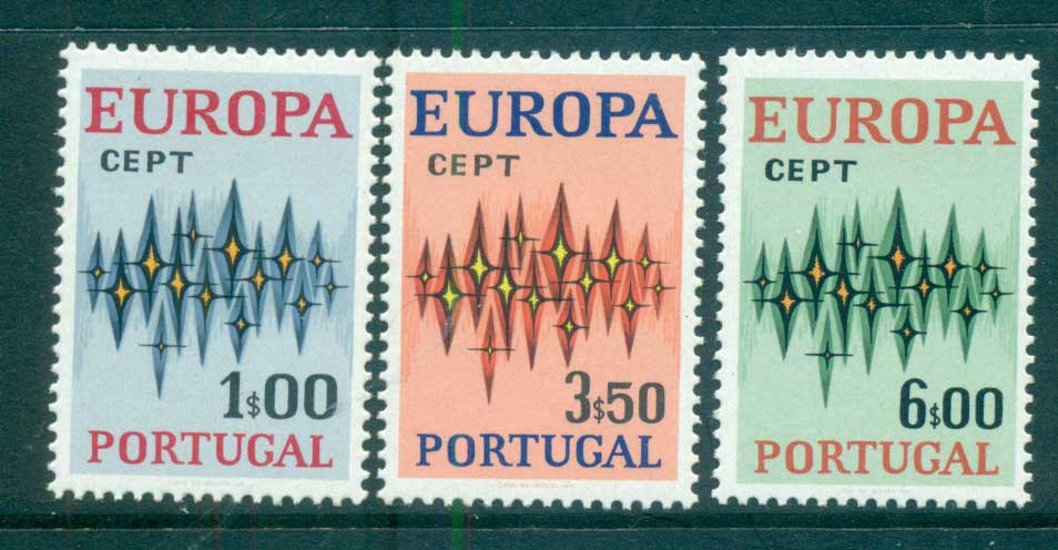 Portugal 1972 Europa, Sparkles MUH lot65544