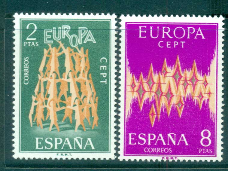 Spain 1972 Europa, Sparkles MUH lot65545