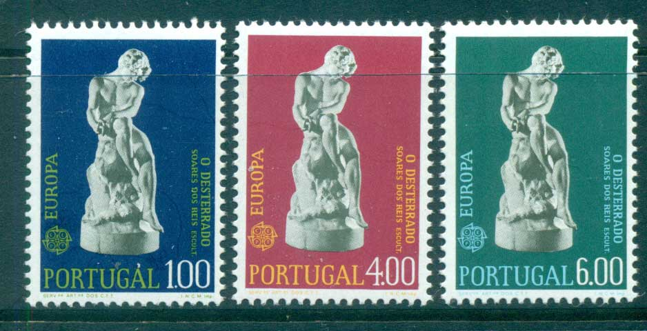 Portugal 1974 Europa, Sculpture MUH lot65589