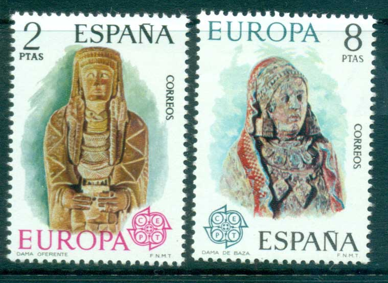 Spain 1974 Europa, Sculpture MUH lot65593
