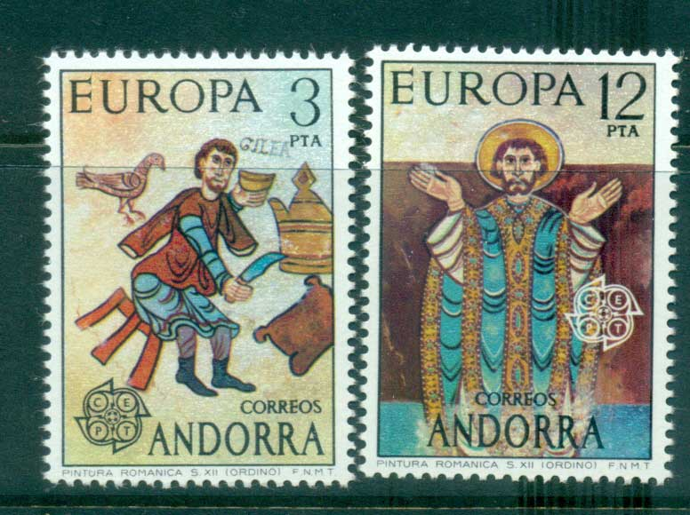 Andorra (Sp) 1975 Europa, Paintings MUH lot65600