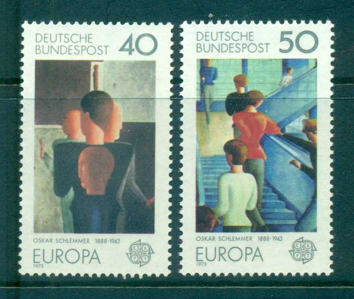 Germany 1975 Europa, Paintings MUH lot65601