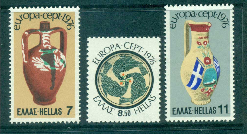 Greece 1976 Europa, Pottery MUH lot65629