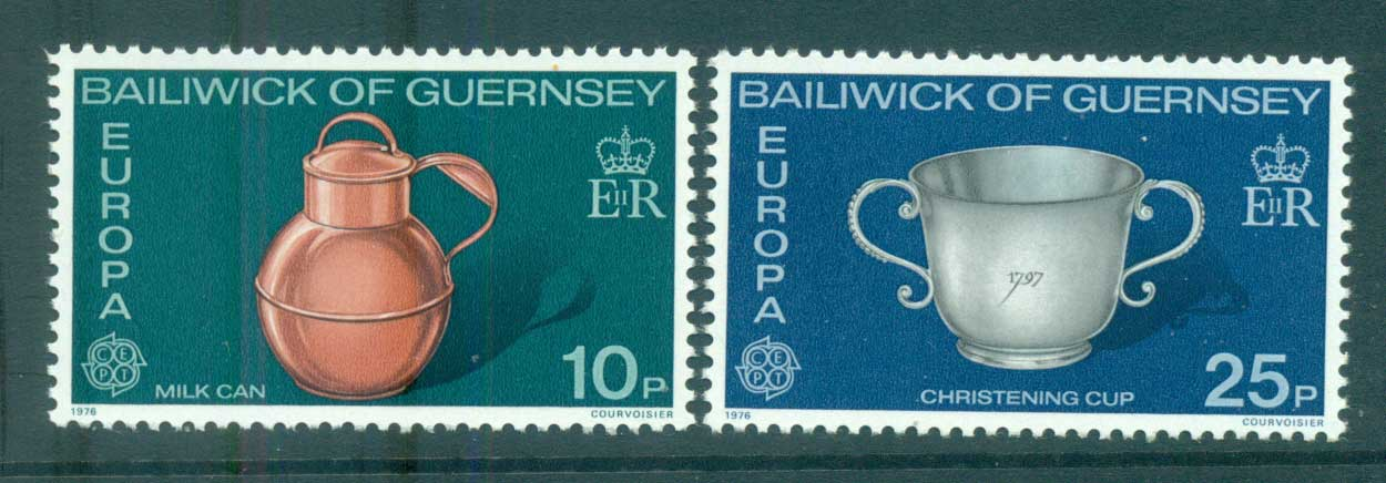 Guernsey 1976 Europa, Pottery MUH lot65631