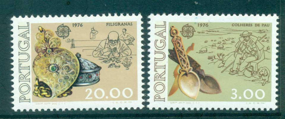 Portugal 1976 Europa, Pottery MUH lot65643