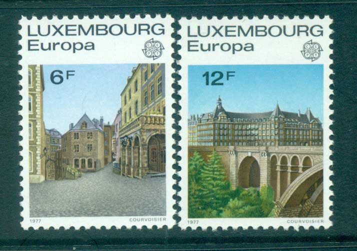 Luxembourg 1977 Europa, Landcapes MUH lot65667