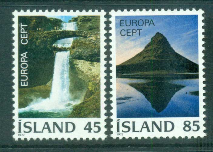 Iceland 1977 Europa, Landcapes MUH lot65668