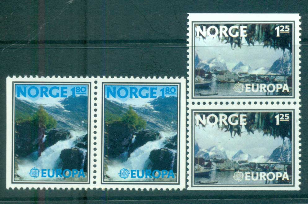 Norway 1977 Europa, Landcapes prs MUH lot65669
