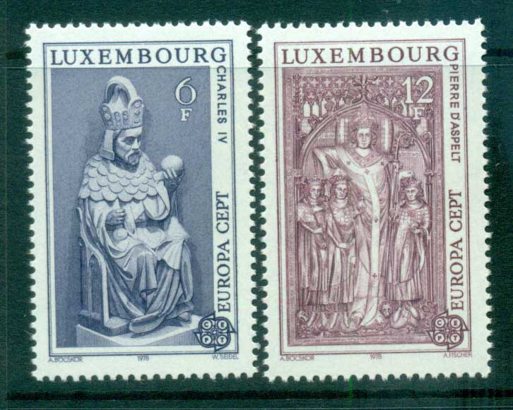 Luxembourg 1978 Europa, Architecture MUH lot65693