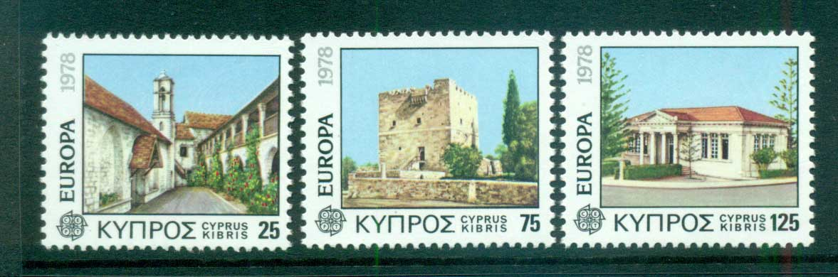 Cyprus 1978 Europa, Architecture MUH lot65707