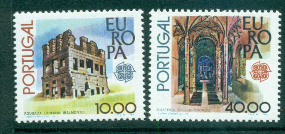 Portugal 1978 Europa, Architecture MUH lot65709
