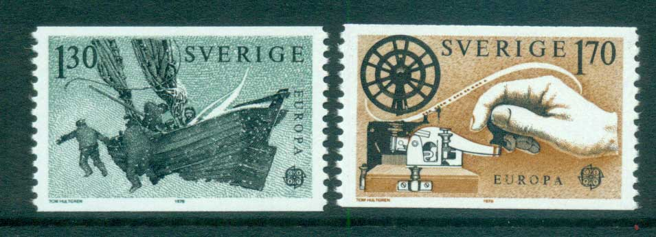 Sweden 1979 Europa, Communications MUH lot65717