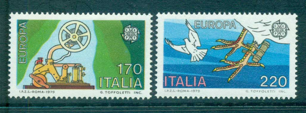 Italy 1979 Europa, Communications MUH lot65742